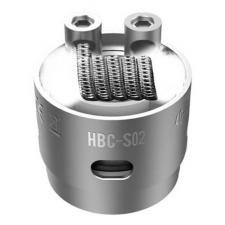 Сменный испаритель S02(HBC-S02) GeekVape Eagle Replacement HBC 1шт.0.4ohm 40-70W