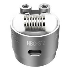 Сменный испаритель S12 Notch(HBC-S12) GeekVape Eagle Replacement HBC 0.2ohm 40-70W